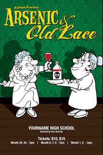 an overview of the play arsenic and old lace High street arts center, moorpark:  overview  50  16 reviews  my husband and i enjoyed the afternoon saturday play: arsenic & old lace with a.