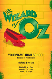 Wizard of Oz Logo and Poster